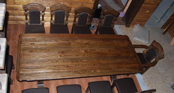 Брашированая древесина и области ее применения