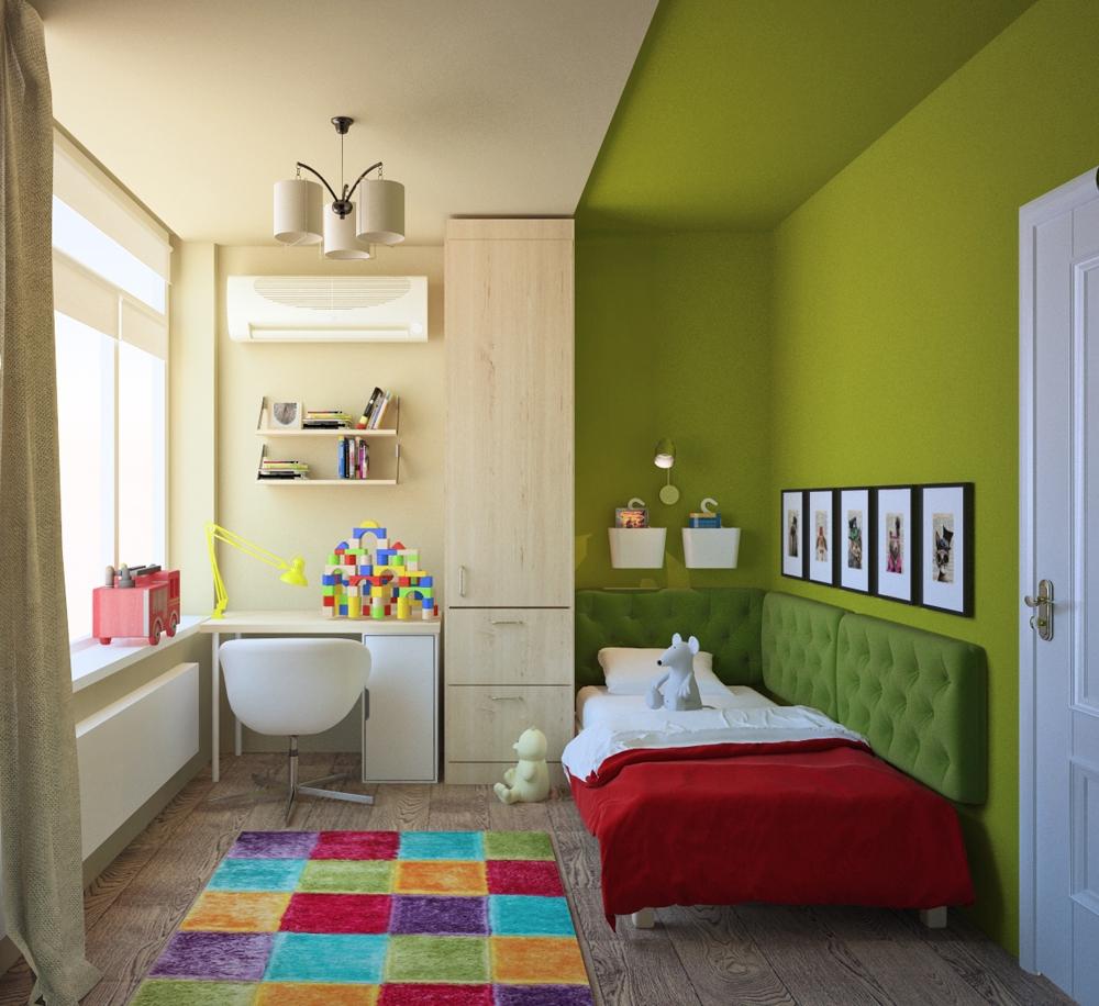 Зонирование небольших комнат