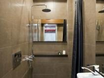 Удобная планировка санузла с душем
