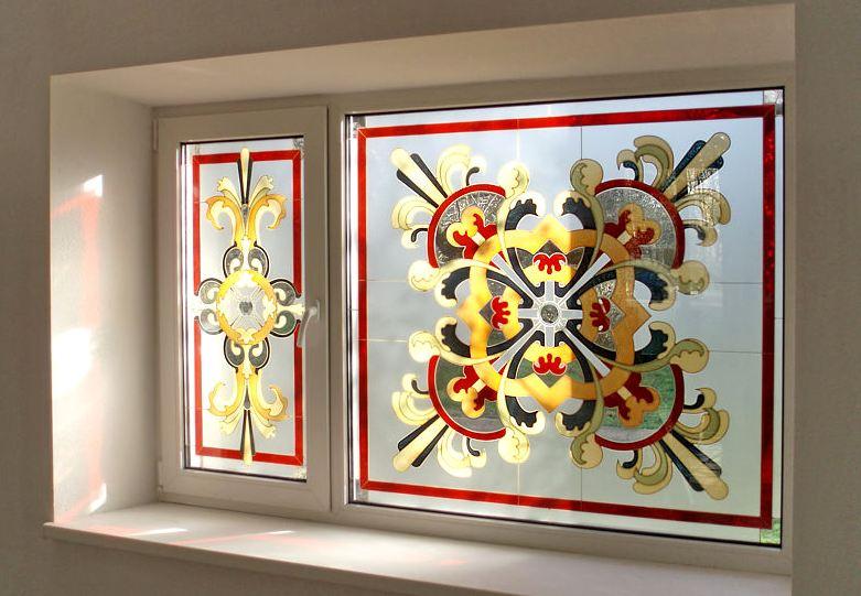 Оконные витражи своими руками: как сделать чудо на стекле?
