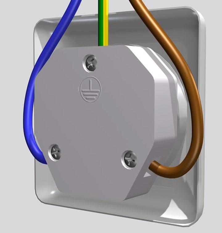 подключение проводов в розетке для плит на 32А