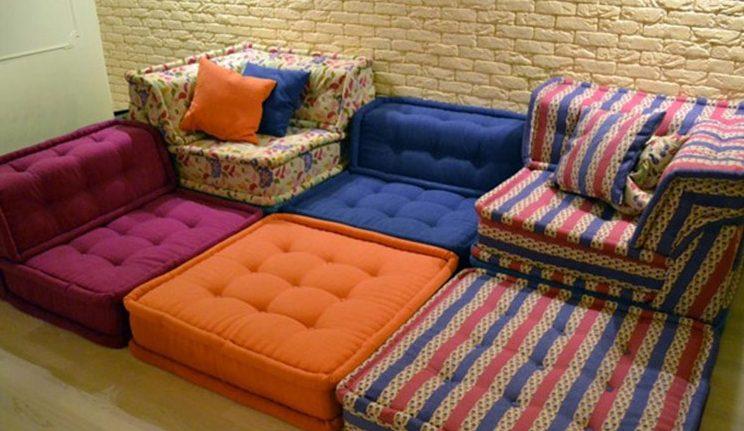 Интересные варианты изготовления мягкой мебели своими руками:
