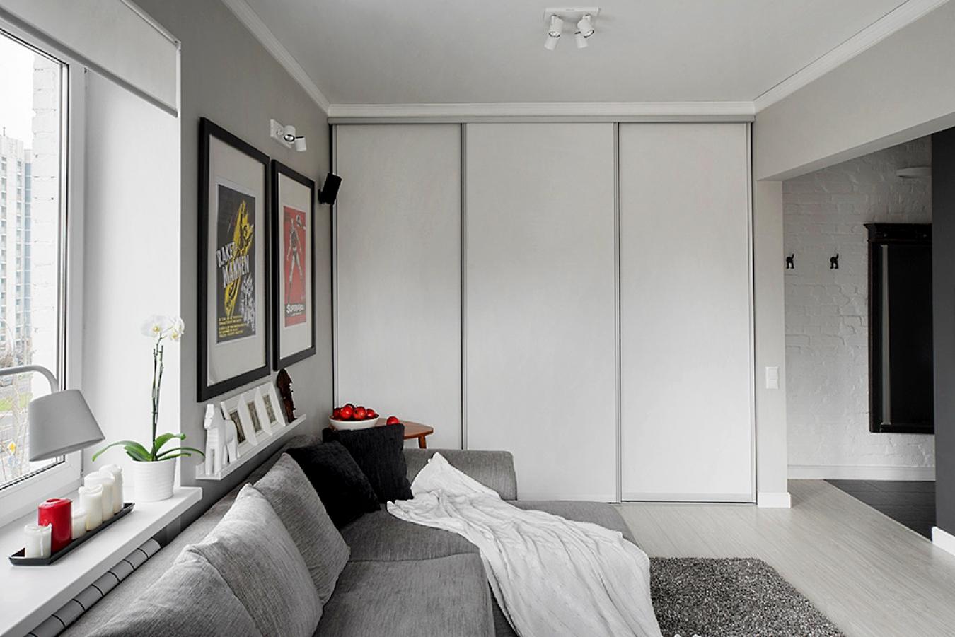 Использование шкафов-купе в квартире