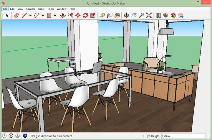 Программа Google SketckUp