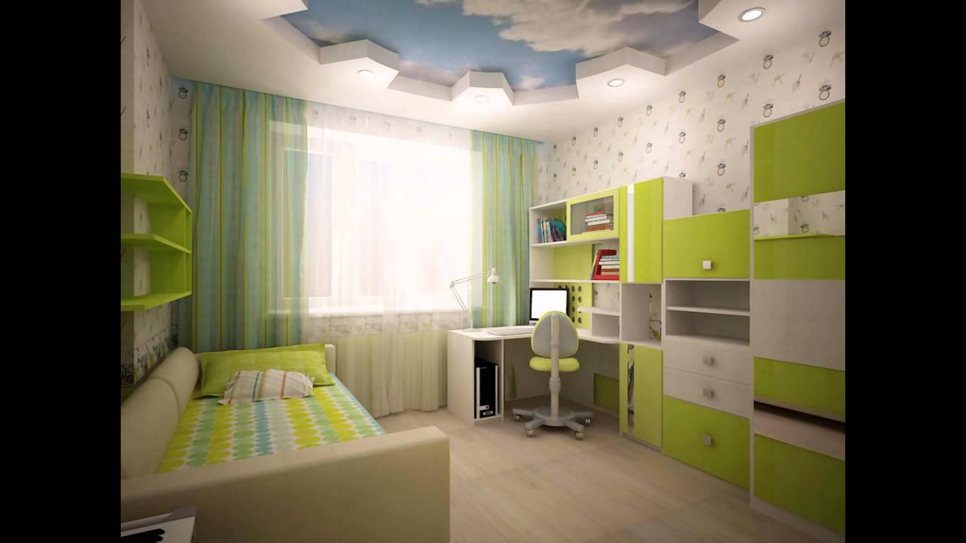 яркая детская спальня для ребенка картинка