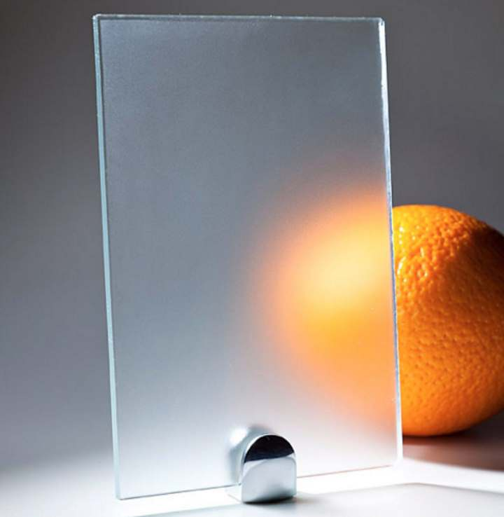 Что дает матовость стекла
