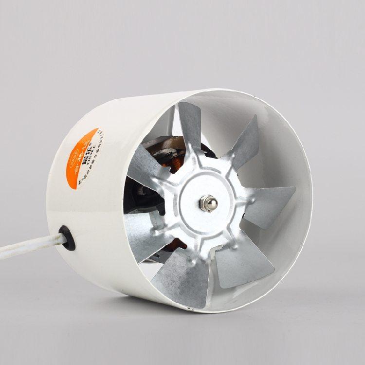 Вентилятор, предназначенный для установки в полость воздуховода