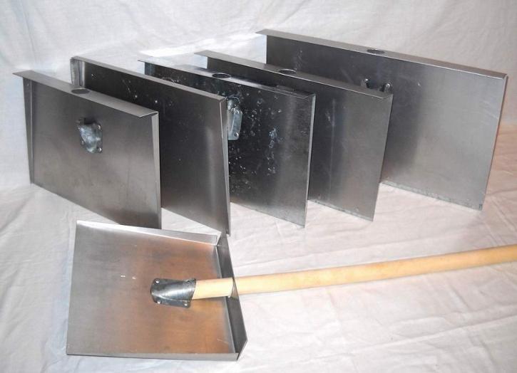 Лопата для уборки снега своими руками из металла