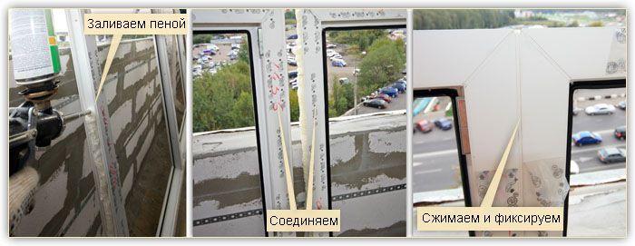 Дополнительная герметизация заводских узлов
