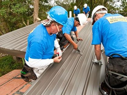Подготовка к монтажу профлиста на крышу