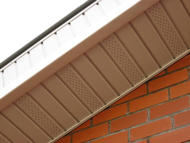 Как сделать вентиляцию крыши через подшивку