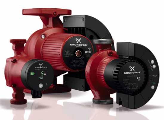 Насосные агрегаты для отопительных сетей
