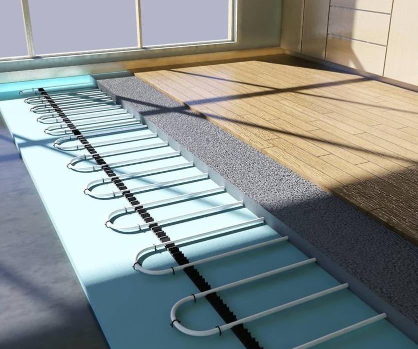Подложка для водяного обогрева полов