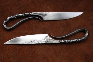 Закалка ножа из напильника