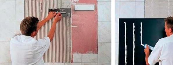 Как прикрепить зеркало на гипсокартонную стену