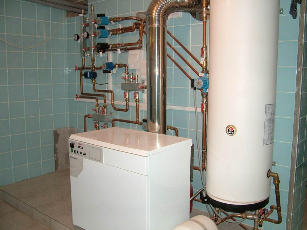 Монтаж и подключение газового котла