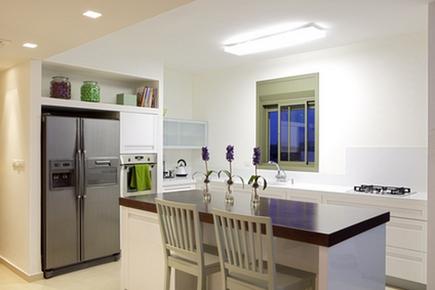 Использование ниш в дизайне кухни