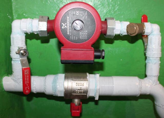 как поставить дополнительный насос в систему отопления