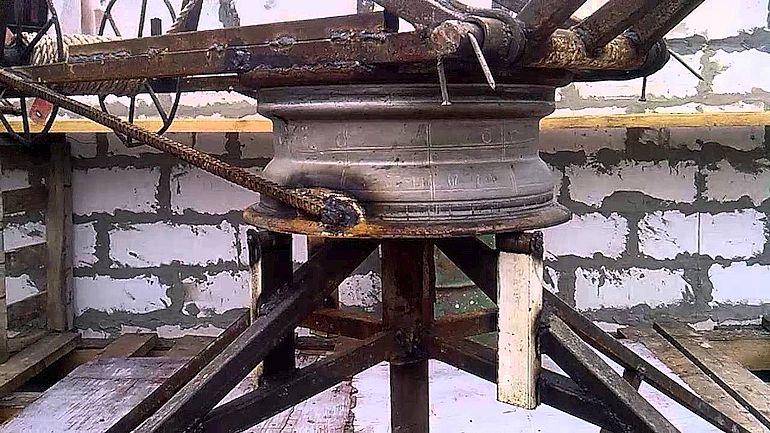 Самодельный кран для строительства дома