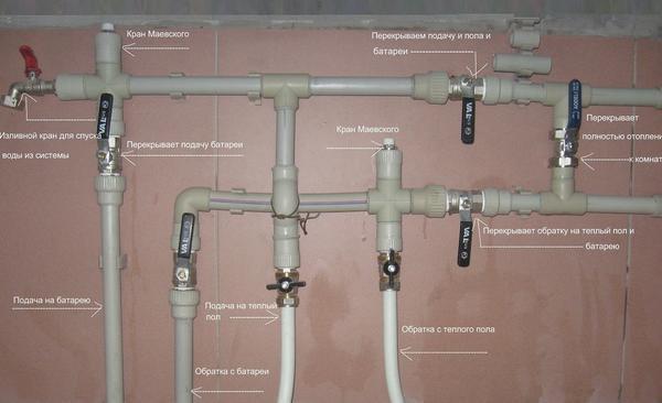 Этапы разводки воды в квартире своими руками