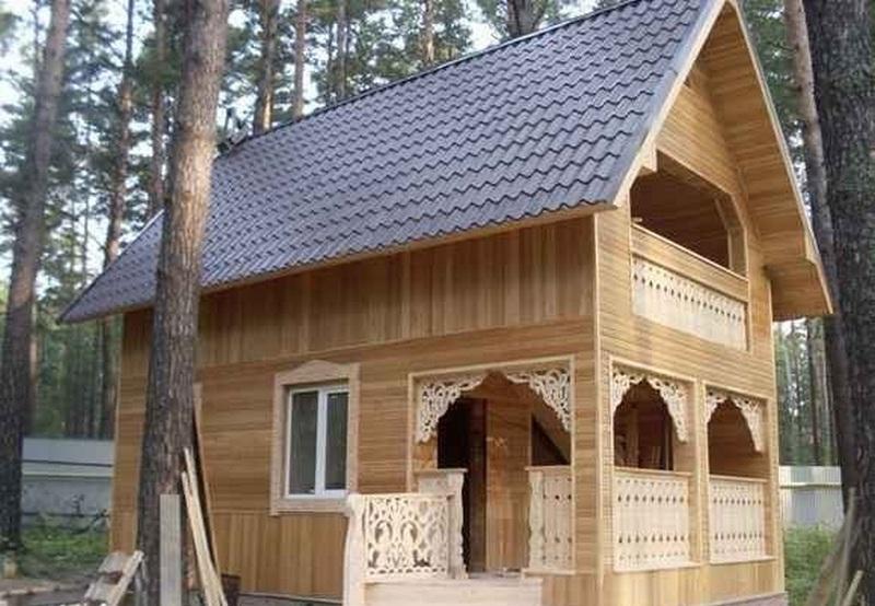 Вертикальная обшивка каркасного дома