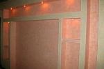 полочки в стены из гипсокартона
