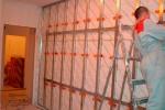 конструкция каркас на стене