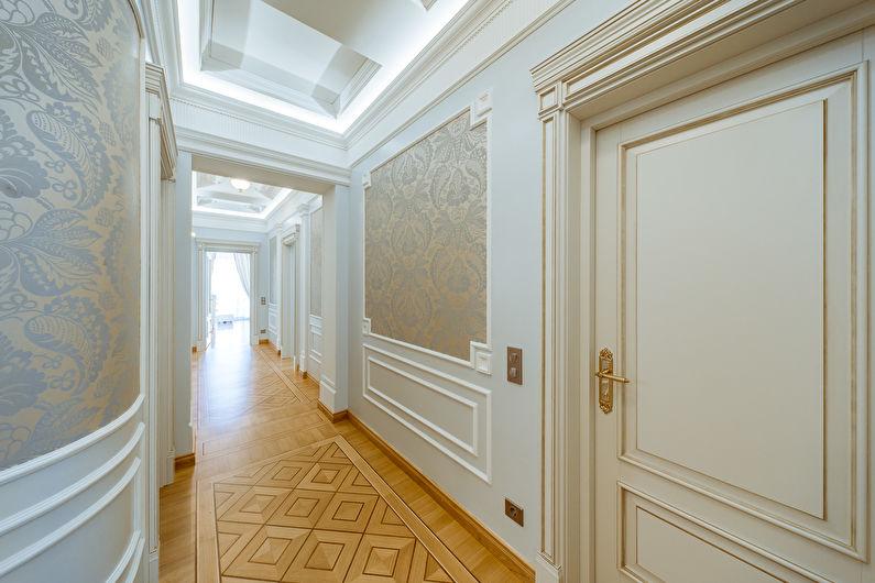 Декор старых дверей своими руками - Молдинг