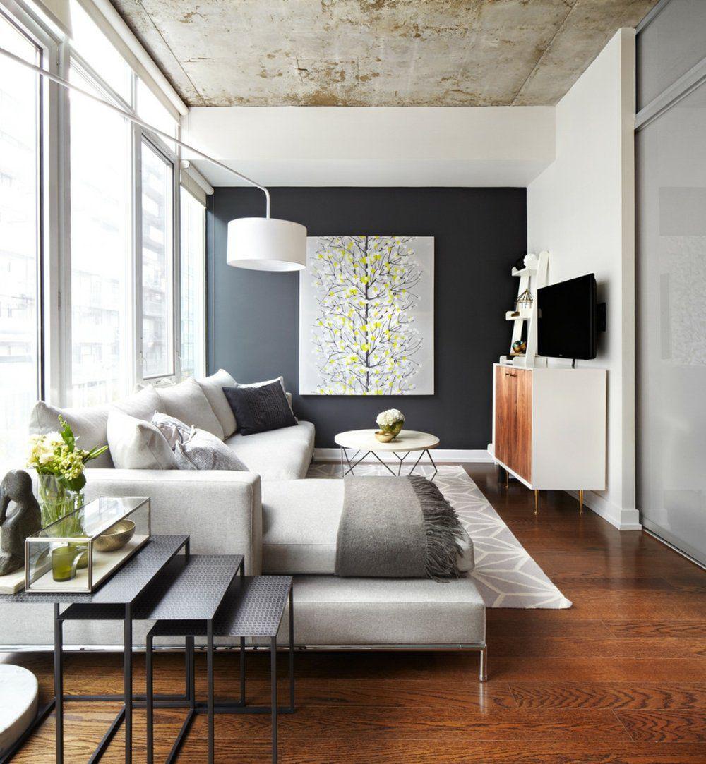 Фото 6 Бетонный потолок в интерьере: 60+ лаконичных идей для дизайна в стиле лофт, минимализм и хай-тек