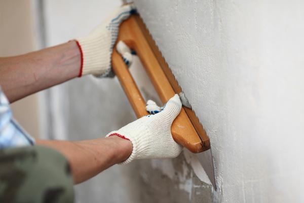 Подготовка стен и окраска