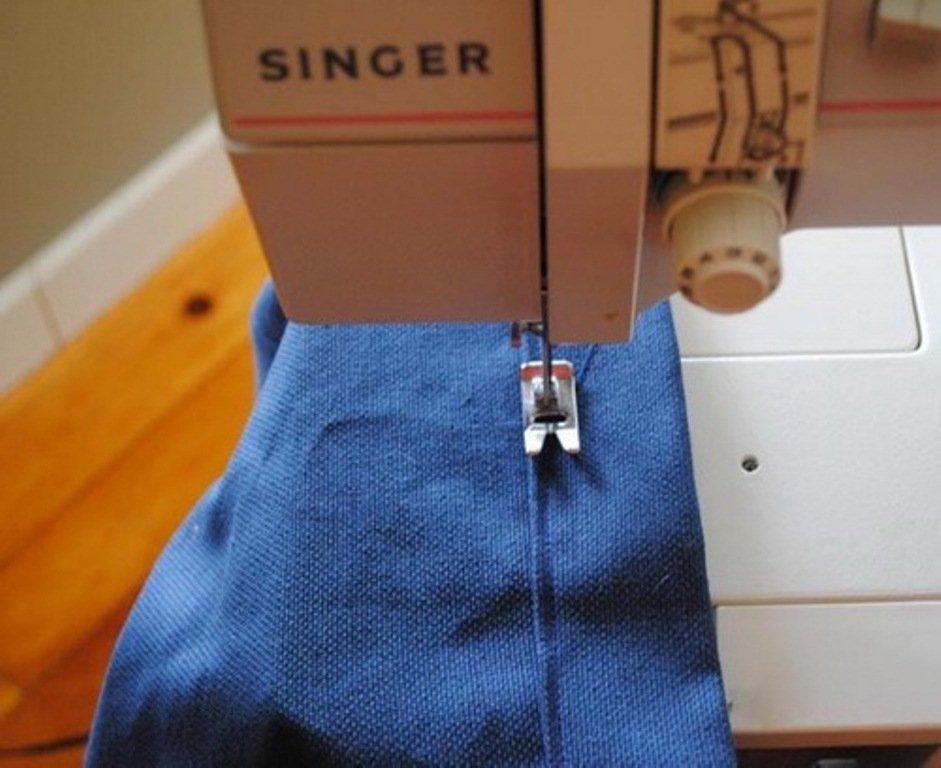 Подшив ткани