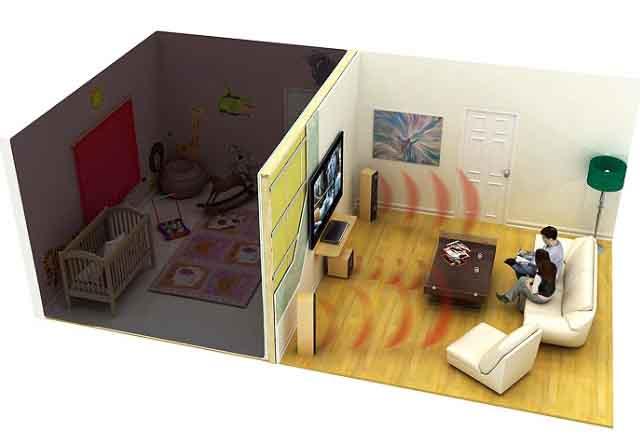 Изоляция детской от шума