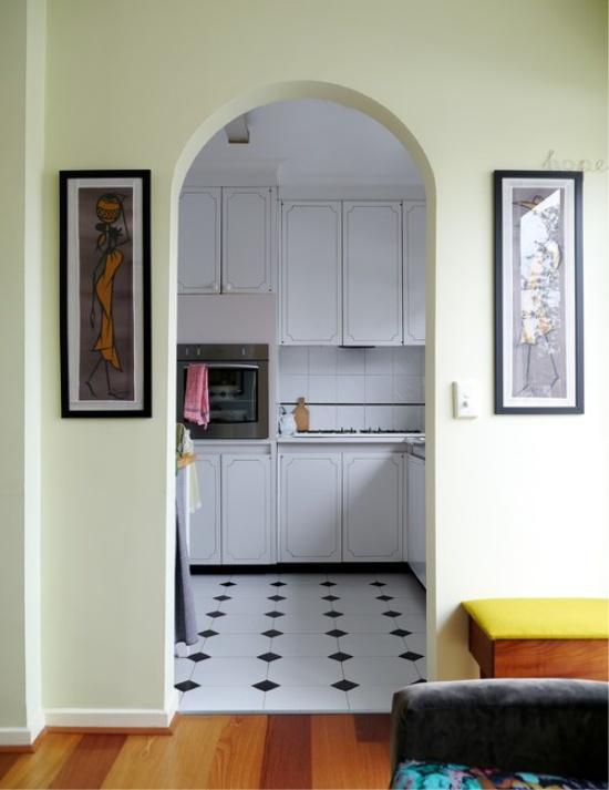 Арка на кухне