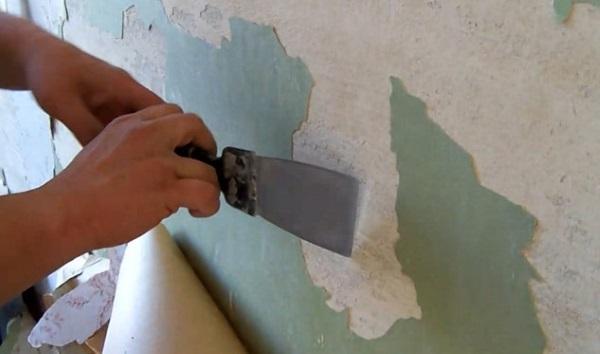 Очищение стены