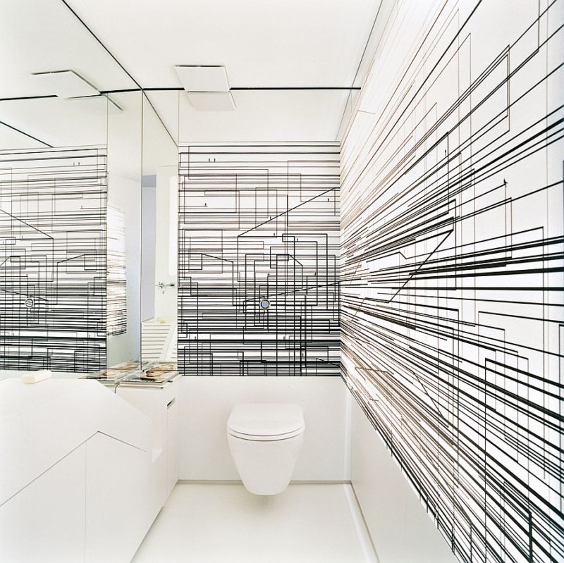 fabulous-toilet-design-with-futuristic-abstract-line-wall-decal