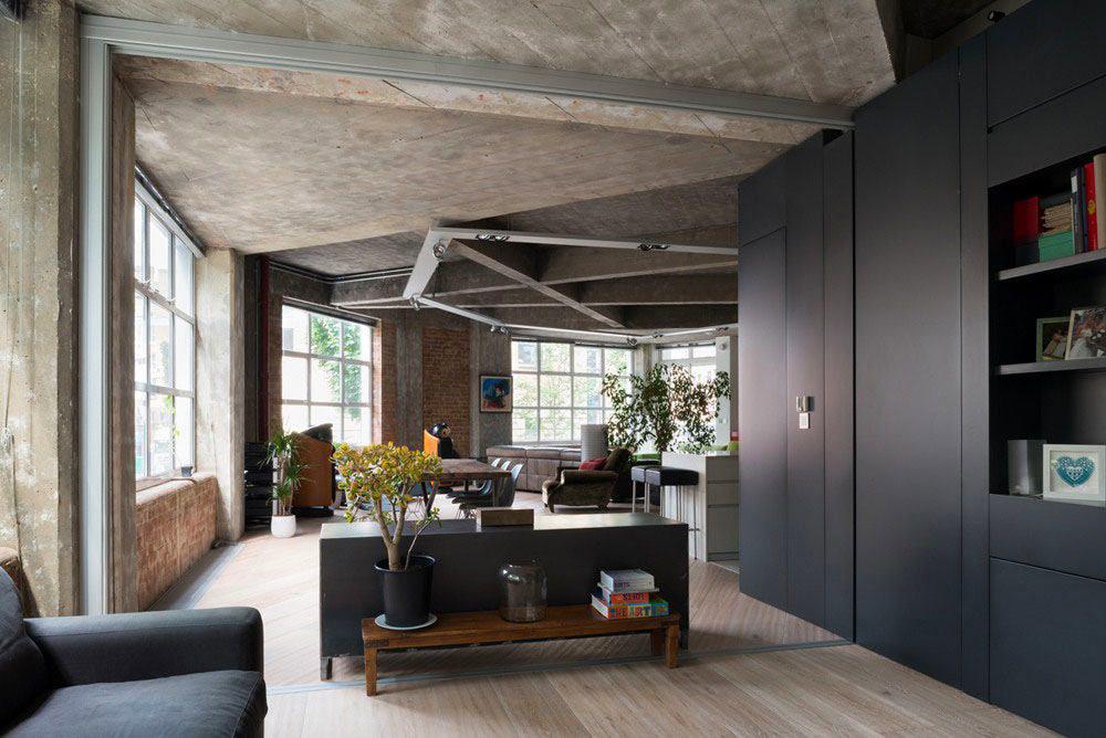 Фото 2 Бетонный потолок в интерьере: 60+ лаконичных идей для дизайна в стиле лофт, минимализм и хай-тек