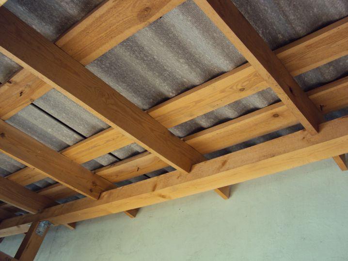 Крыша веранды