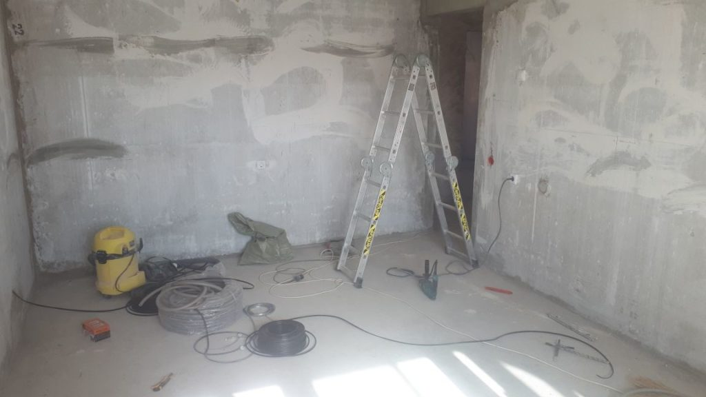 ремонт в новостройке