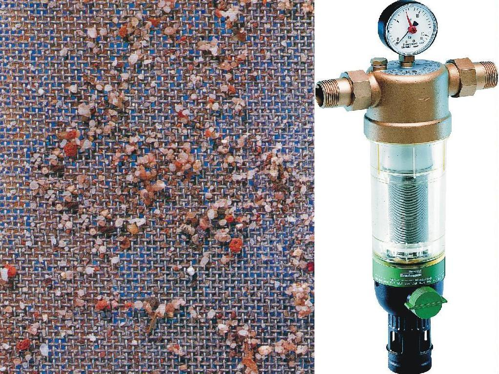 Фильтр грубой очистки для скважины