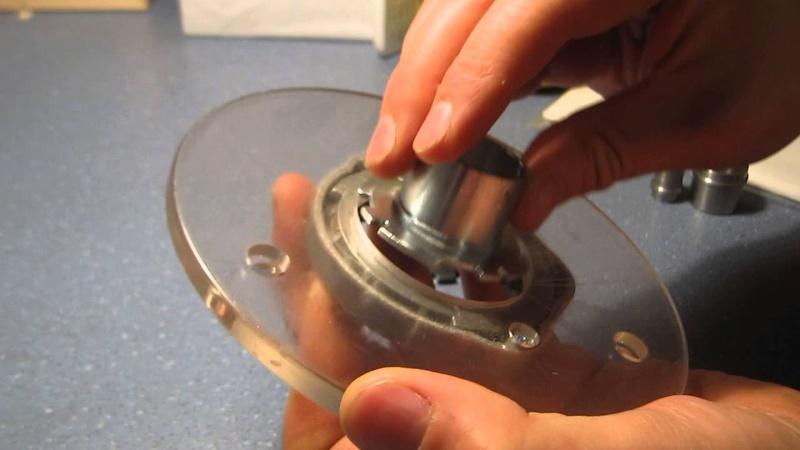 Копировальное кольцо для фрезера