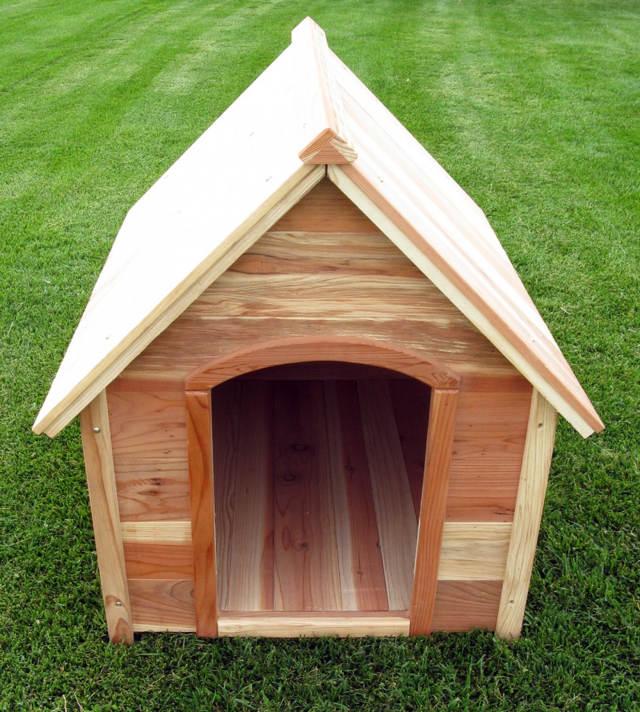 двухскатная-крыша-будки-для-собаки