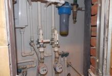 Примерыразводки труб в туалете (фото)