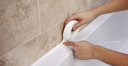 Герметизация шва в ванной