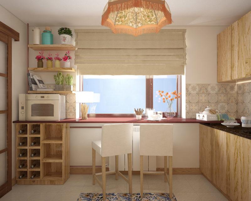 Ремонт: замена окон и дверей на кухне
