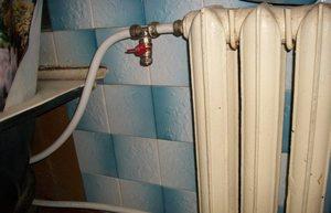 Как спустить воздух с системы отопления