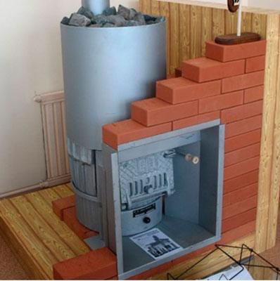 Безопасная конструкция печи в бане