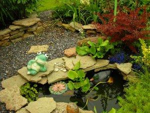 Садовые фигуры своими руками на участке фото
