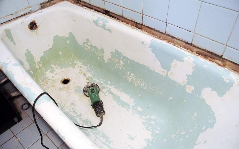 Металлические изделия требуют тщательного удаления старого покрытия