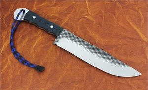 Нож из напильника без ковки своими руками