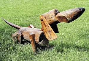 Собака скамейка своими руками фото